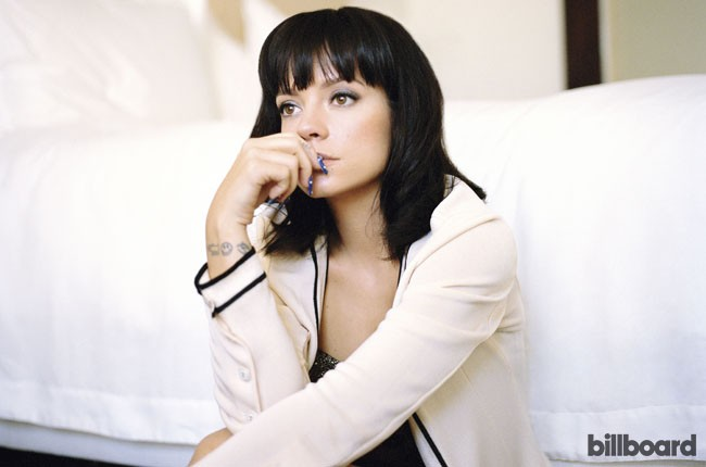 Lily Allen photographed for Billboard