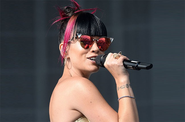 Lily Allen performs live at Radio 1's Big Weekend at Glasgow Green