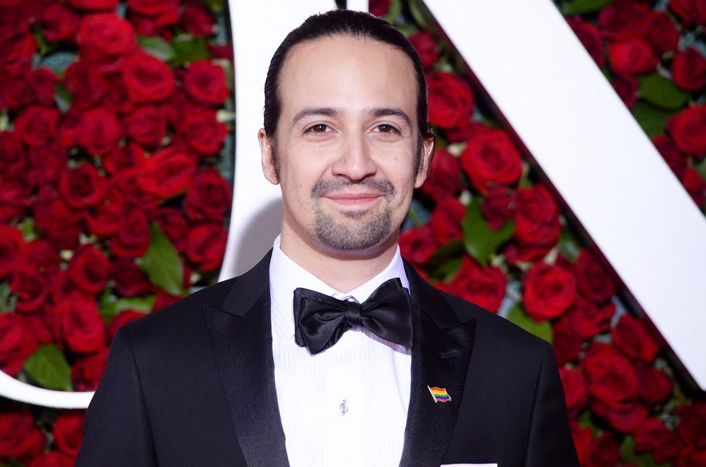 Lin-Manuel Miranda at the Tony Awards