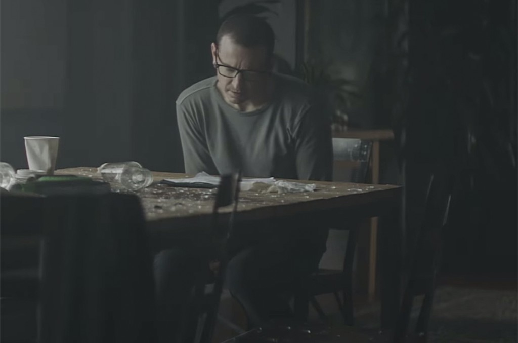 """A scene from the video for """"Heavy"""" by Linkin Park."""