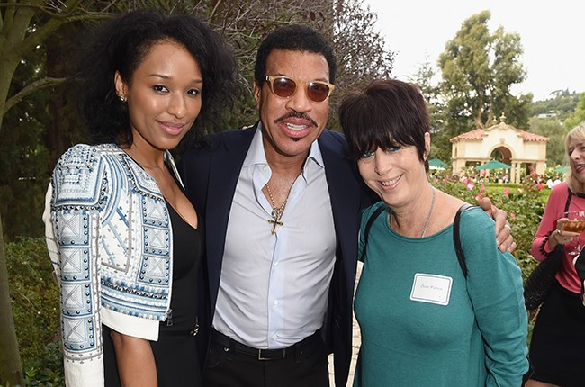 Lisa Parigi, Lionel Richie and Diane Warren attend The Rape Foundation's annual brunch