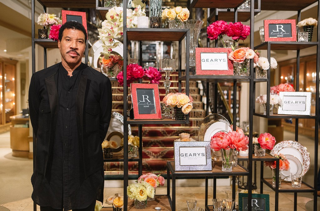 Lionel Richie at Geary's Beverly Hills.