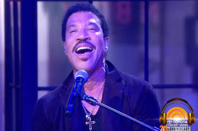 Lionel Richie Today Show 2015