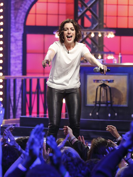 lip sync battle anne hathaway