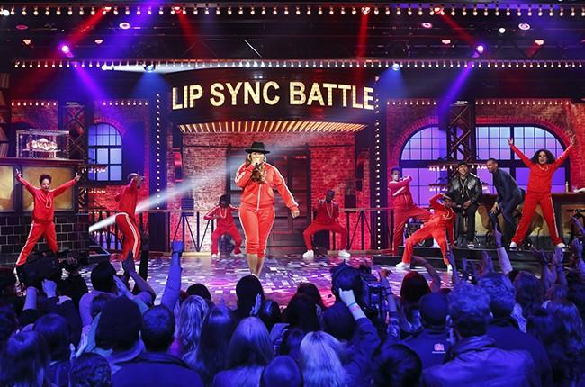 Lip Sync Battle - Queen Latifah vs. Marlon Wayans 2015