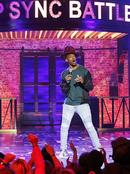 Lip Sync Battle - Queen Latifah vs. Marlon Wayans 2015