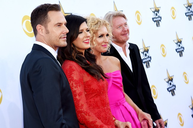 Little Big Town attend the 50th Academy Of Country Music Awards