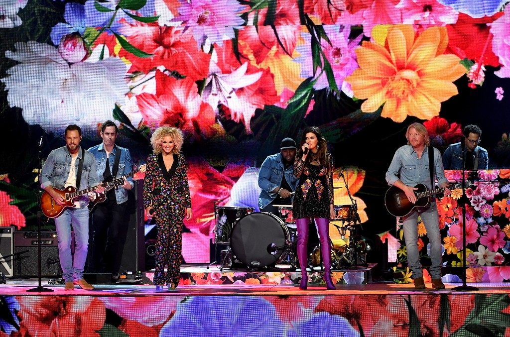 Little Big Town perform onstage during the 52nd Academy Of Country Music Awards at T-Mobile Arena on April 2, 2017 in Las Vegas.