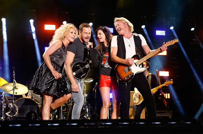 Little Big Town performs at the CMA Music Festival
