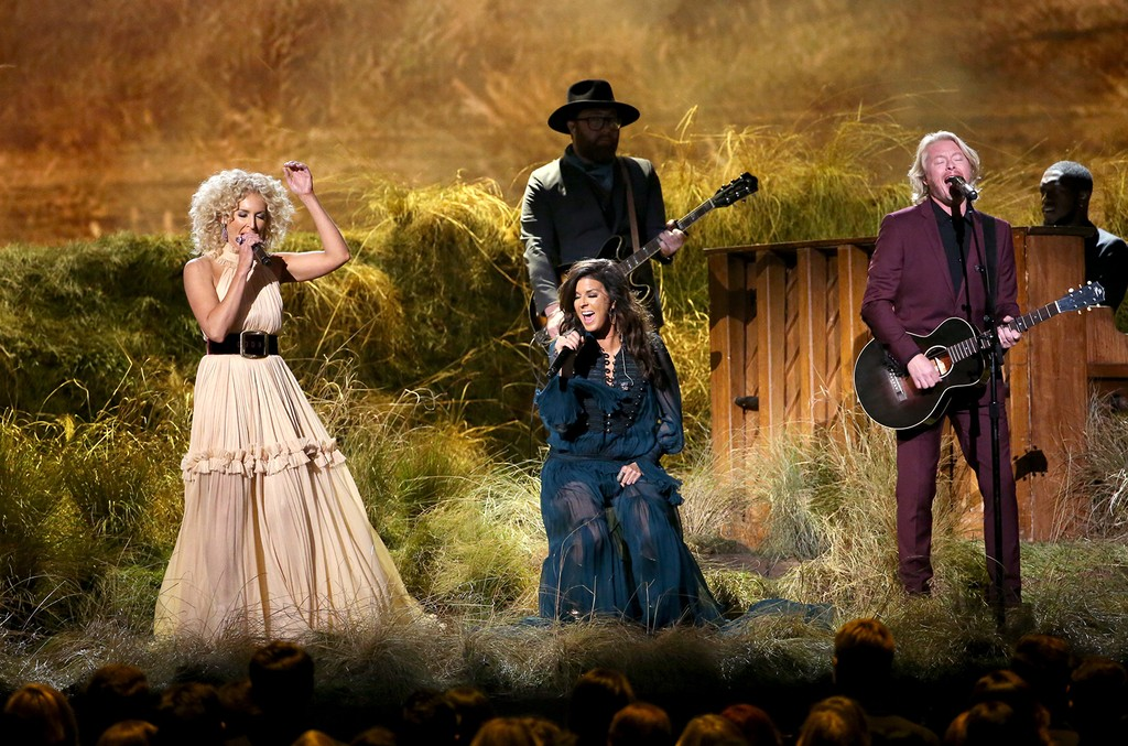 Little Big Town perform onstage at the 50th annual CMA Awards