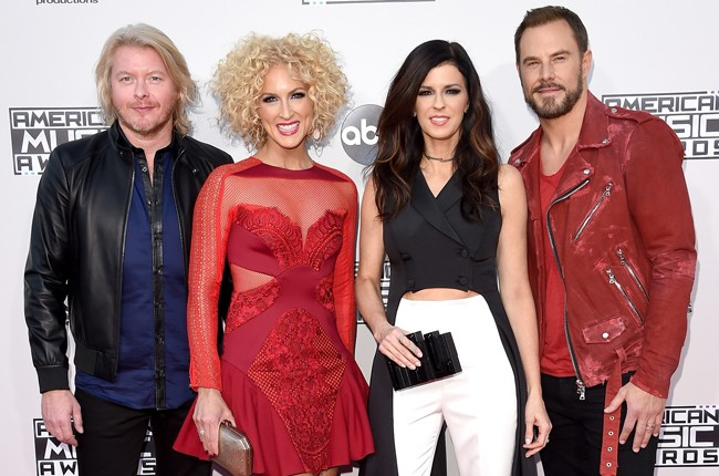 Little Big Town attend the 2015 American Music Awards