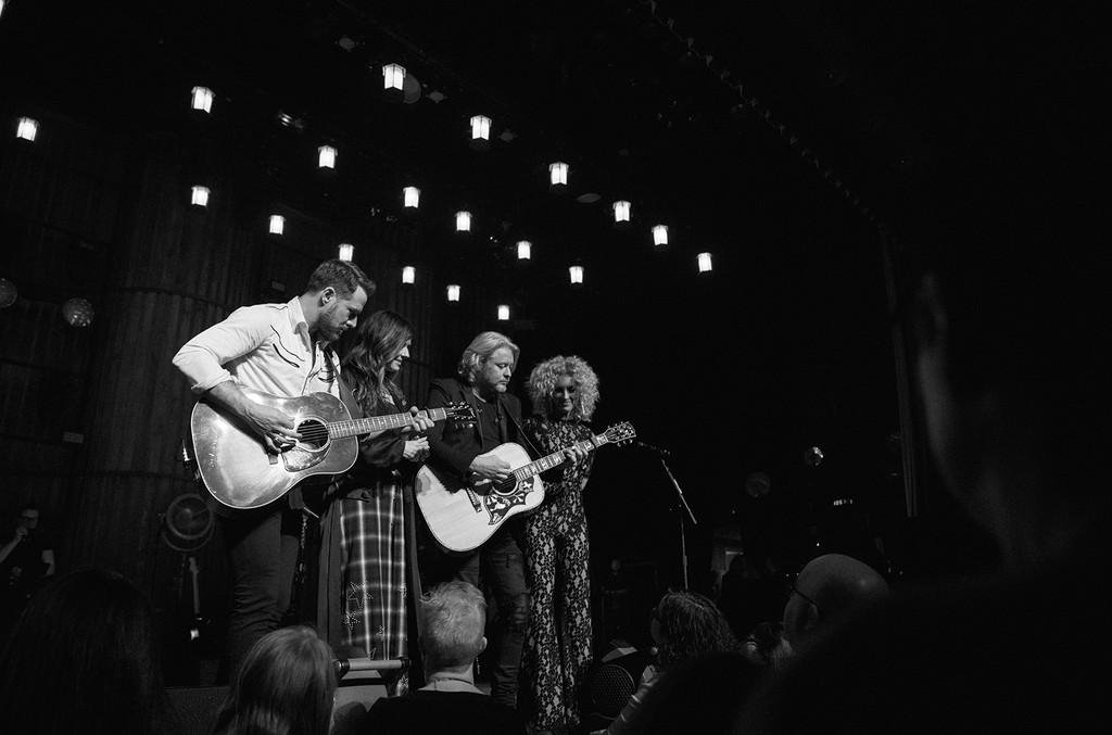 Little Big Town perform at the Ryman Auditorium in Nashville, Tenn.