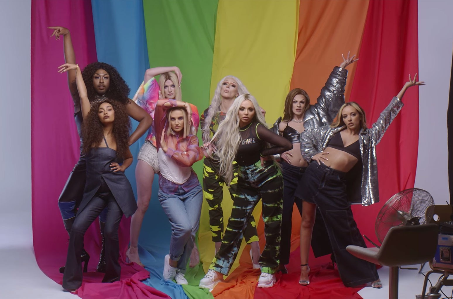 "Little Mix, ""Bounce Back"" (Pride Version)"