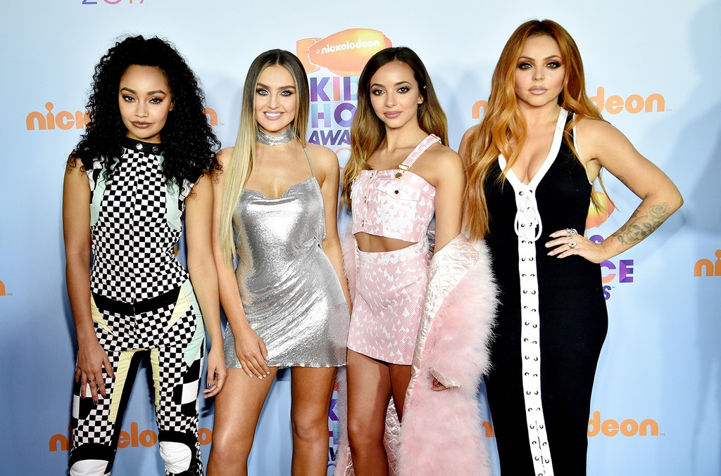 Little Mix at Nickelodeon's 2017 Kids' Choice Awards at USC Galen Center on March 11, 2017 in Los Angeles.