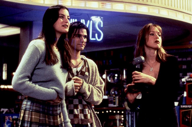 "A still from the 1995 Warner Bros. movie ""Empire Records."""