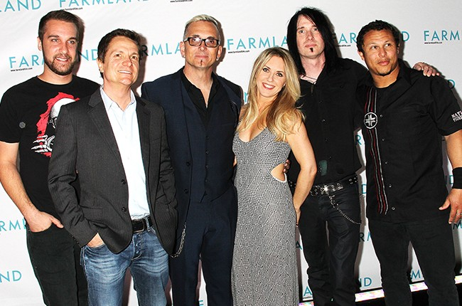 """James Moll, Liz Phair and Everclear attend the """"Farmland"""" screening at Tribeca"""