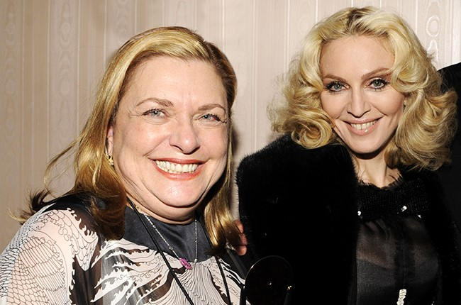 Liz Rosenberg and Musician Madonna 2008