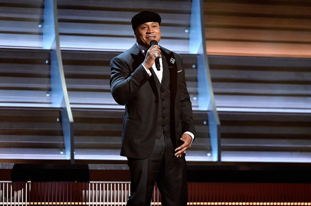 LL Cool J speaks onstage during The 58th Grammy Awards at Staples Center on Feb. 15, 2016 in Los Angeles.