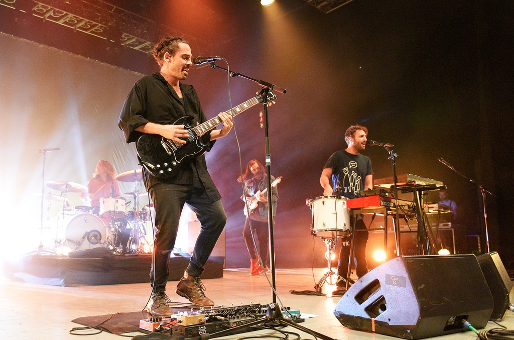 Local Natives perform in 2016