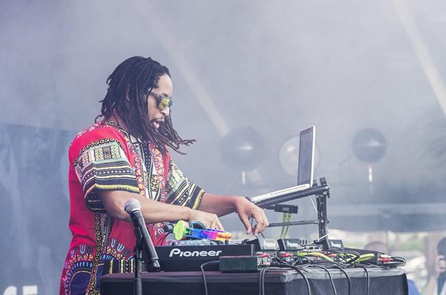 Lil Jon at iHeartRadio 2014