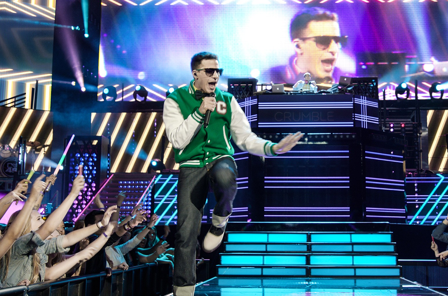 The Lonely Island in Popstar: Never Stop Never Stopping