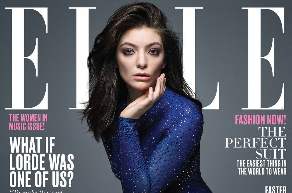 Lorde's ELLE June 2017 Cover Story