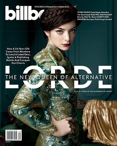 LORDE BILLBOARD COVER