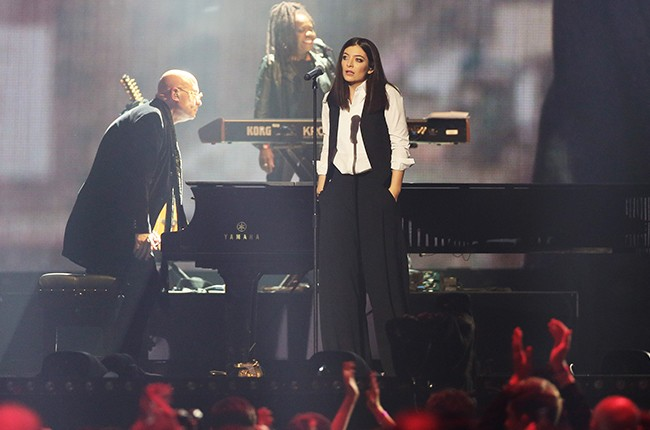 Lorde Brit Awards 2016
