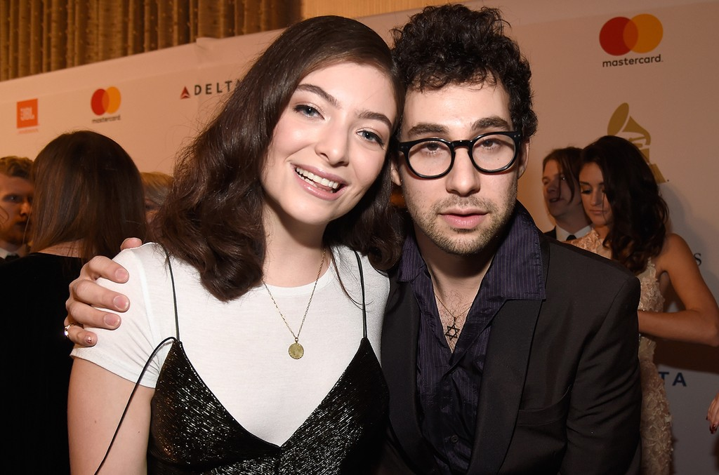 Lorde and Jack Antonoff attend Pre-Grammy Gala and Salute to Industry Icons Honoring Debra Lee at The Beverly Hilton on Feb. 11, 2017 in Los Angeles.