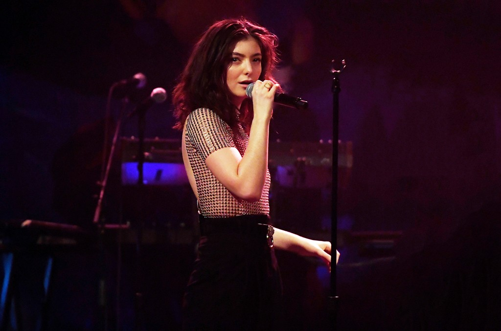 Lorde performs onstage in celebration of the release of her new album Melodrama for SiriusXM at Bowery Ballroom on June 16, 2017 in New York City.