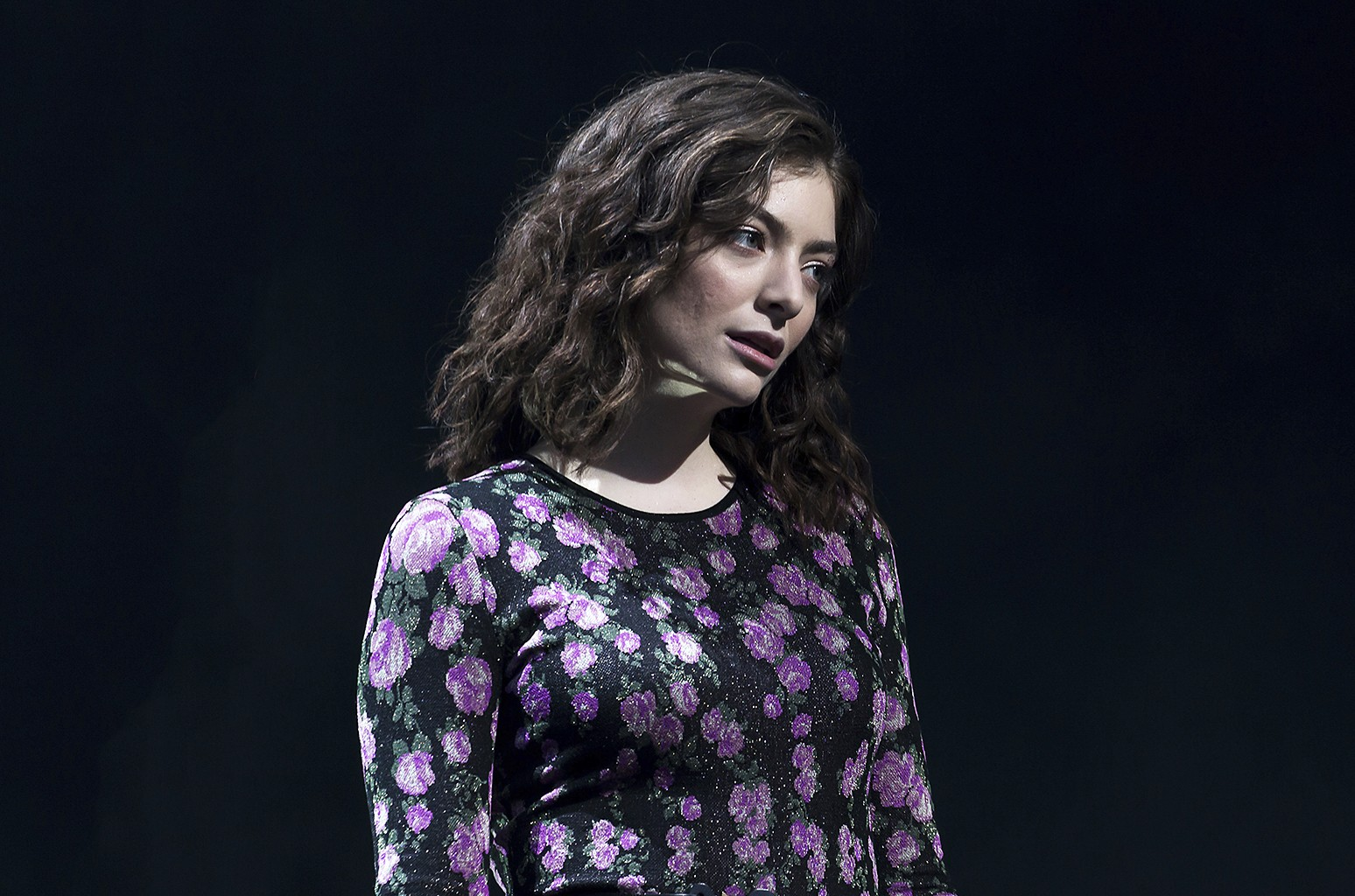 Lorde performs at the Glastonbury music festival at Worthy Farm in Somerset, England on June 23, 2017.