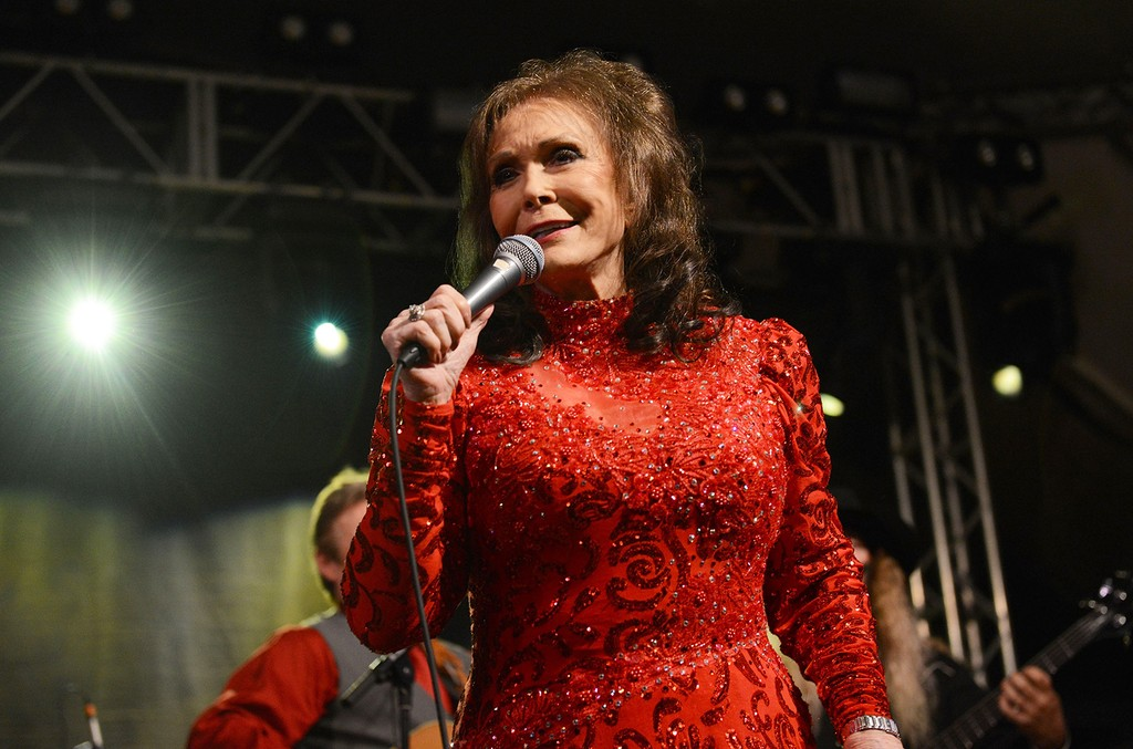 Loretta Lynn performs in Austin