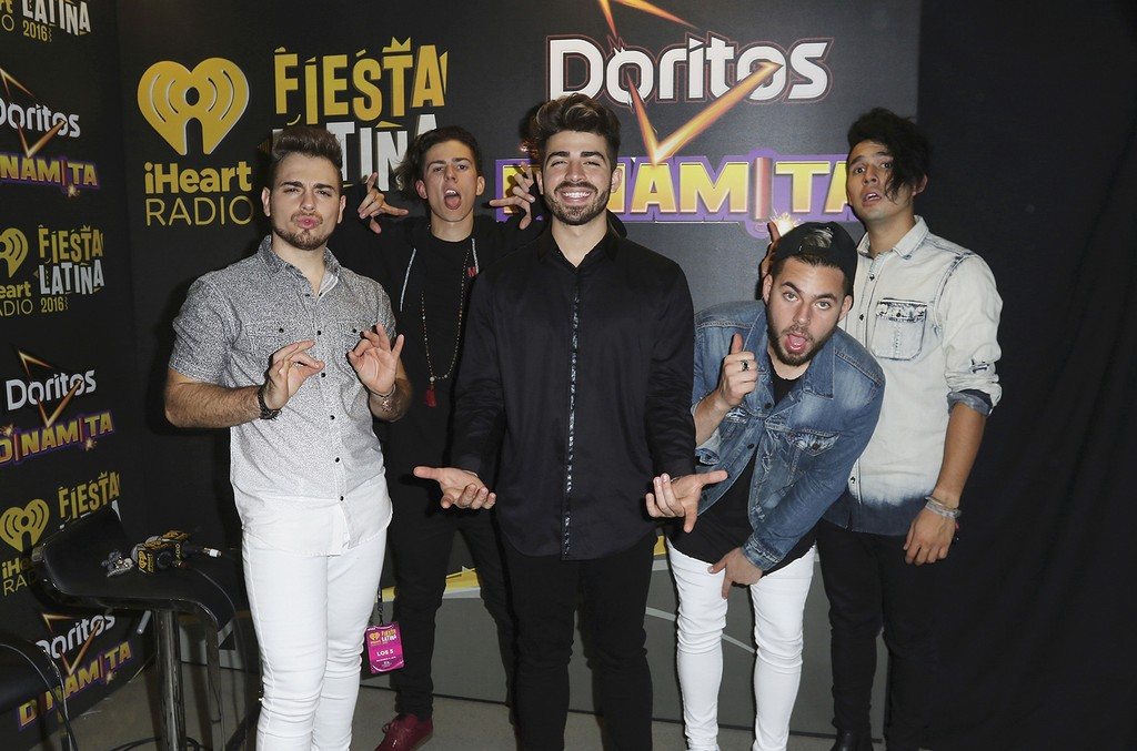 Los 5 at iHeartRadio Fiesta Latina