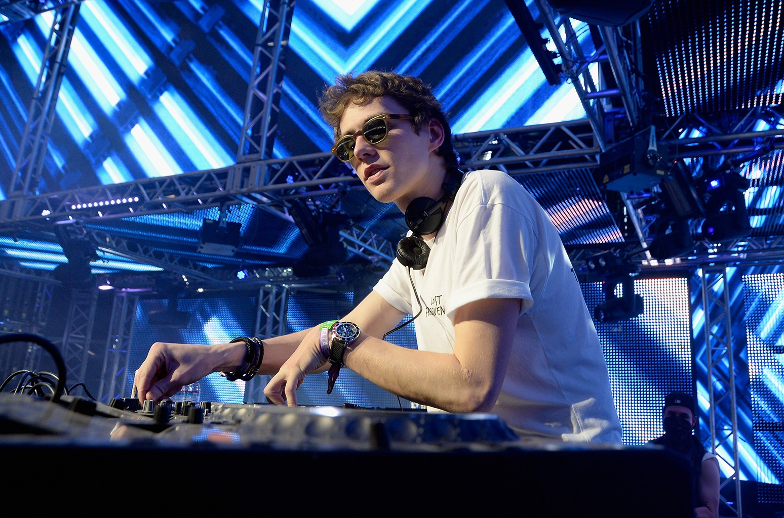 Felix De Laet of Lost Frequencies performs onstage during day 2 of the 2016 Coachella Valley Music & Arts Festival Weekend 1 at the Empire Polo Club on April 16, 2016 in Indio, Calif.