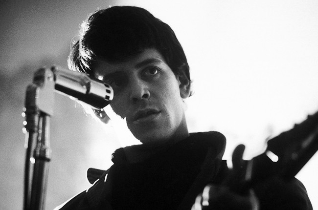 Lou Reed of the Velvet Underground performs in New York, 1966