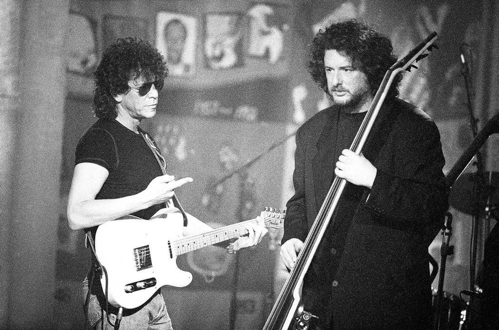 Lou Reed and Rob Wasserman