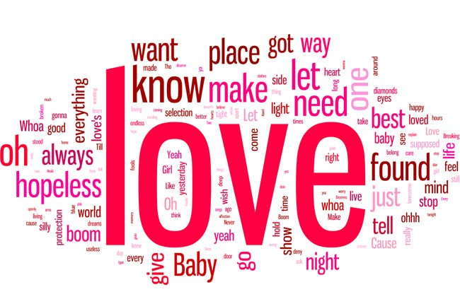 Songs with the word love