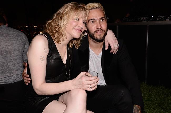 Courtney Love Pete Wentz Men in Style