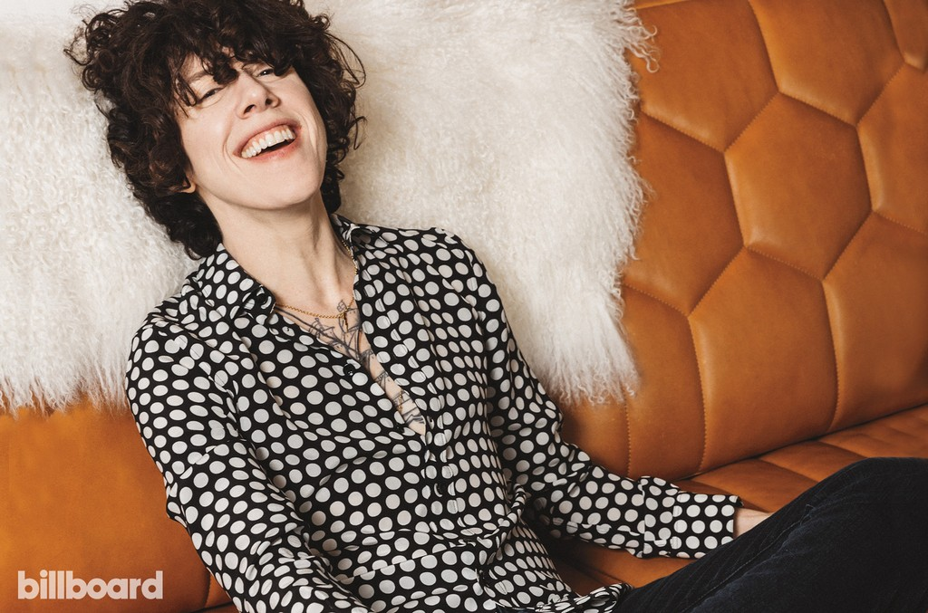 LP photographed on June 12th at Neuehouse in Los Angeles.