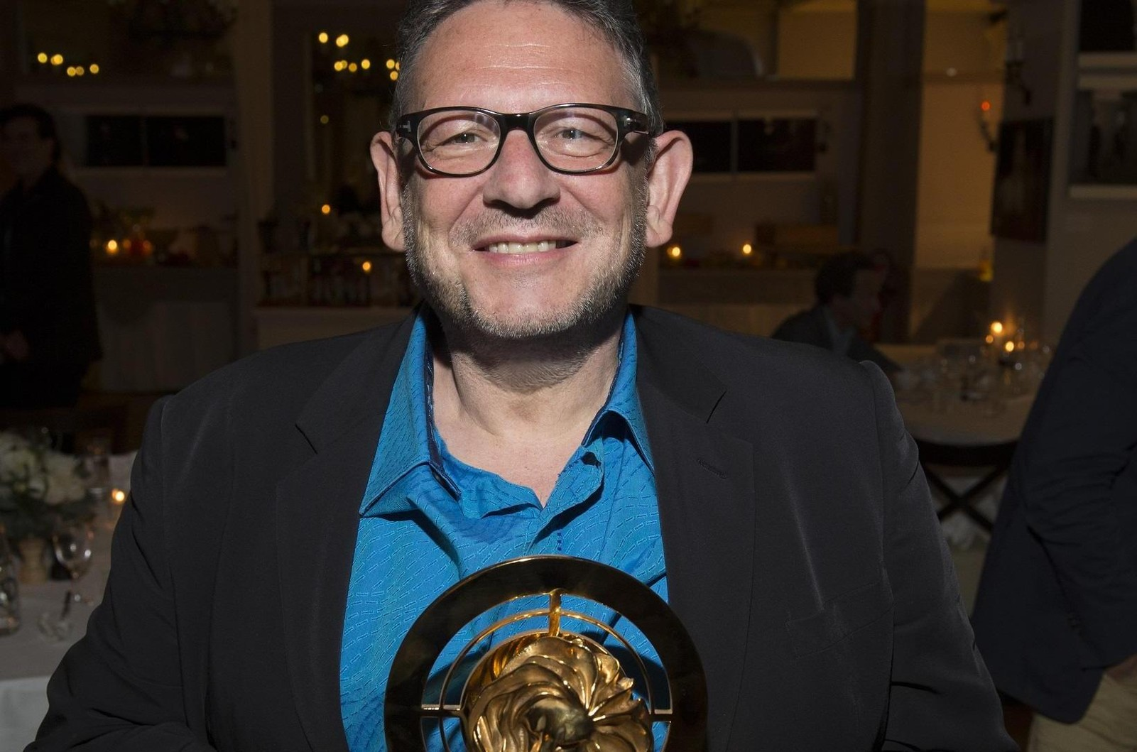 Sir Lucian Grainge was honored as the Cannes Lion Media Person of the Year 2017 during a ceremony held at the Le Petit Maison De Nicole, Cannes
