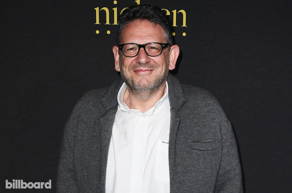 Chairman and chief executive officer of Universal Music Group, Lucian Grainge attends Billboard Power 100 - Red Carpet at Cecconi's on Feb. 9, 2017 in West Hollywood, Calif.