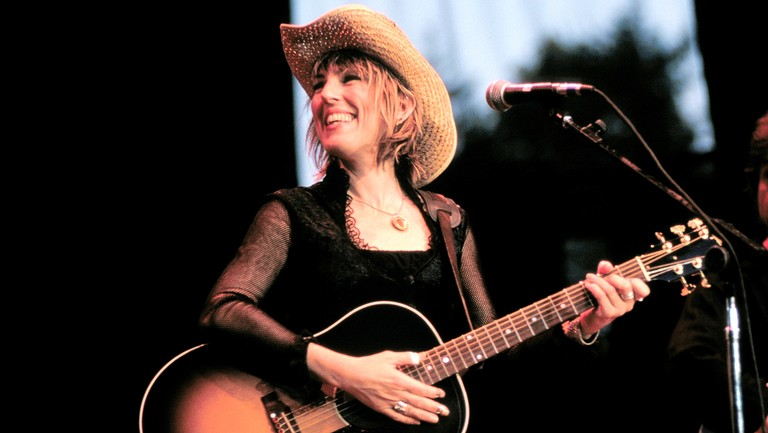 <p>Lucinda Williams performs at Neil Young&#39&#x3B;s Bridge Benefit 1999 Finale at Shoreline Amphitheater on Oct. 31, 1999 in Mountain View, Calif.&nbsp&#x3B;</p>