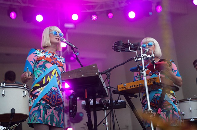 Lucius perform at Lollapalooza 2014