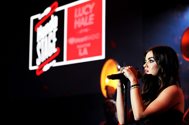 Lucy Hale Honda Stage Concert