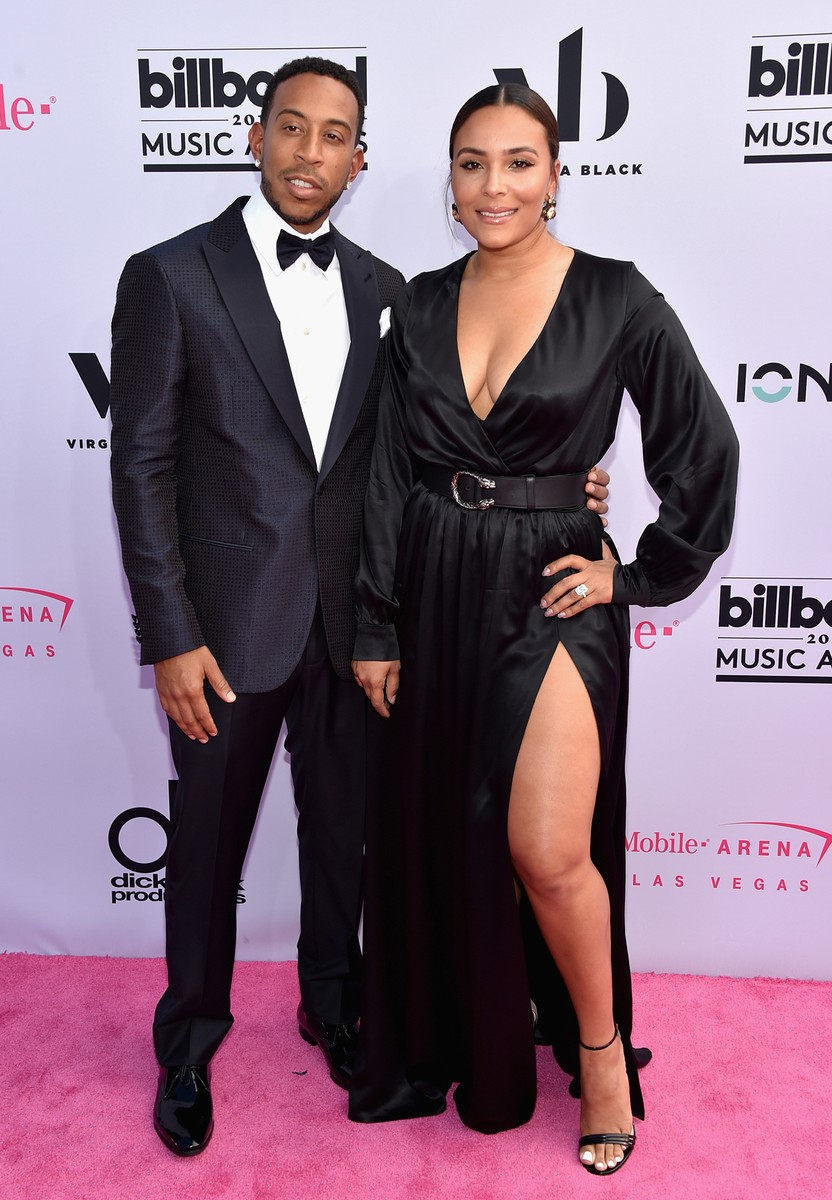 Ludacris and Eudoxie Mbouguiengue attend the 2017 Billboard Music Awards at T-Mobile Arena on May 21, 2017 in Las Vegas.