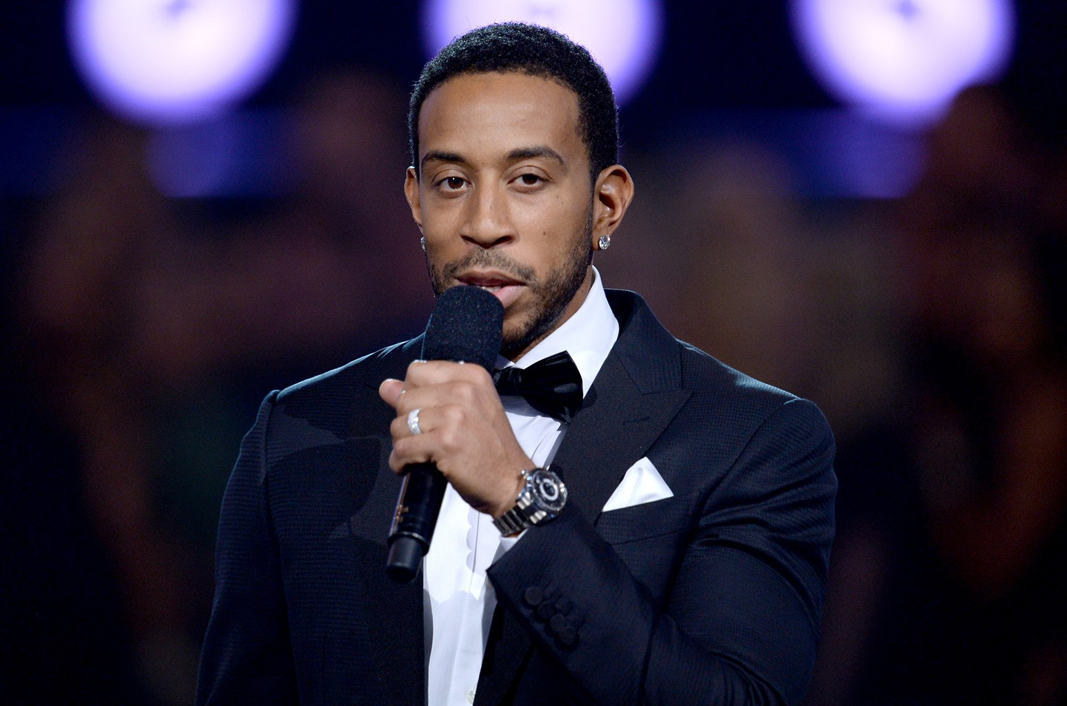 Ludacris speaks onstage during the 2016 Billboard Music Awards at T-Mobile Arena on May 22, 2016 in Las Vegas.