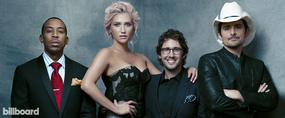 Rising Star: Ludacris, Kesha, Josh Groban and Brad Paisley, 2014.