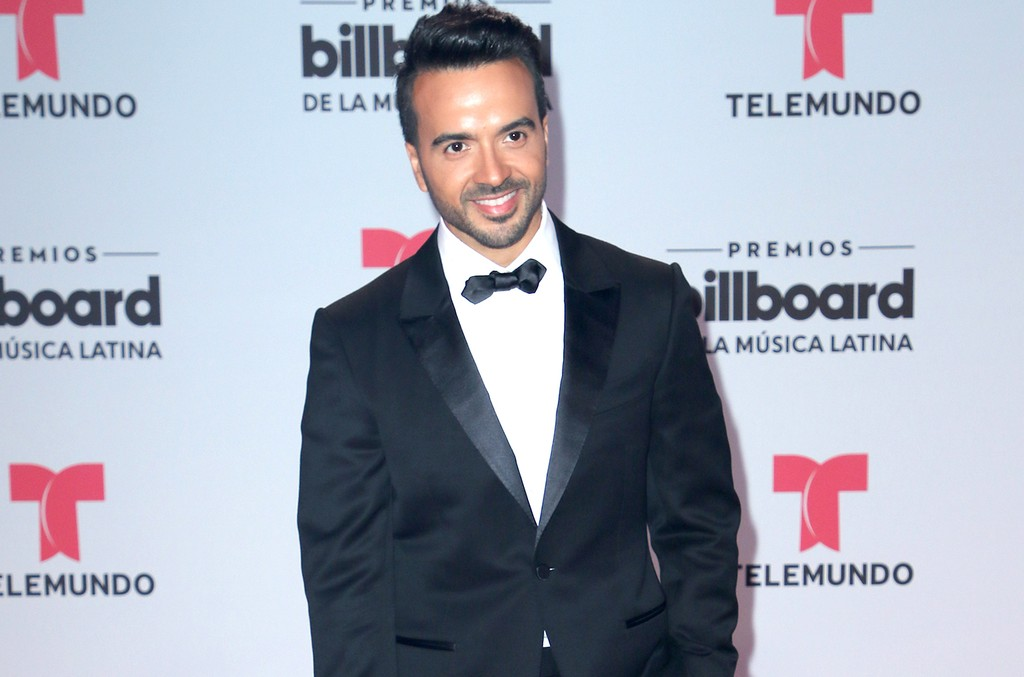 Luis Fonsi attends the Billboard Latin Music Awards at Watsco Center on April 27, 2017 in Coral Gables, Fla.