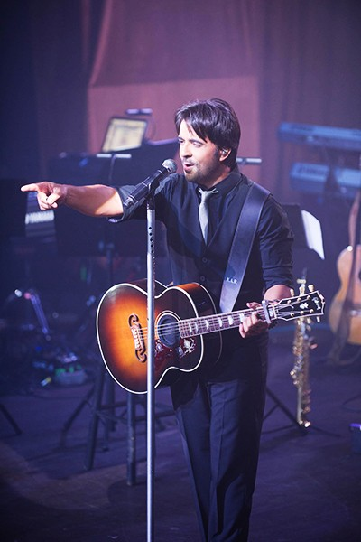 Luis Fonsi at the Billboard 2014 Latin Music Conference 25th Anniversary Concert