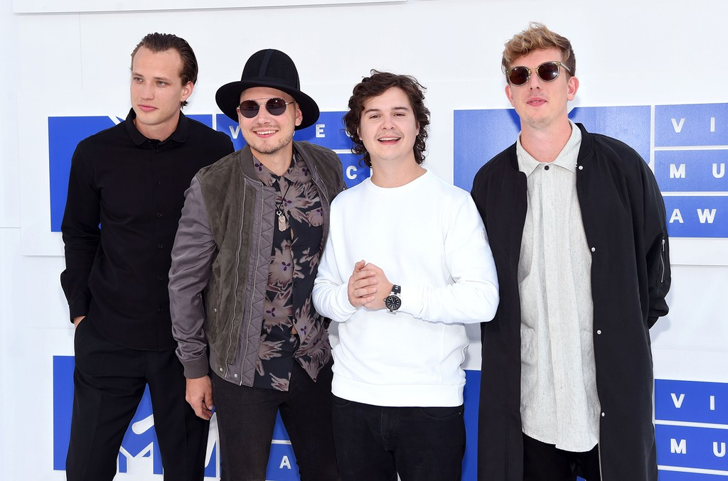 Lukas Graham attend the 2016 MTV Video Music Awards
